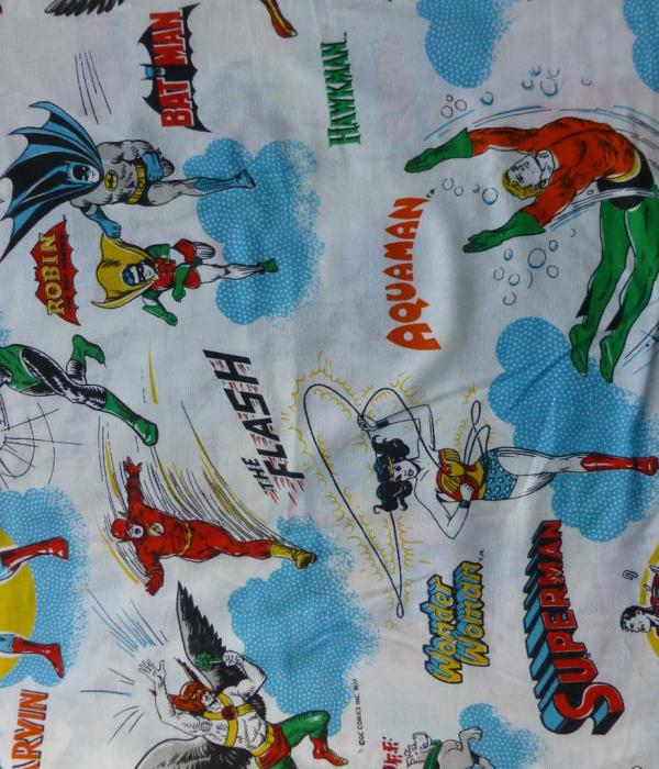 DC Comics Vintage 1977 fabric