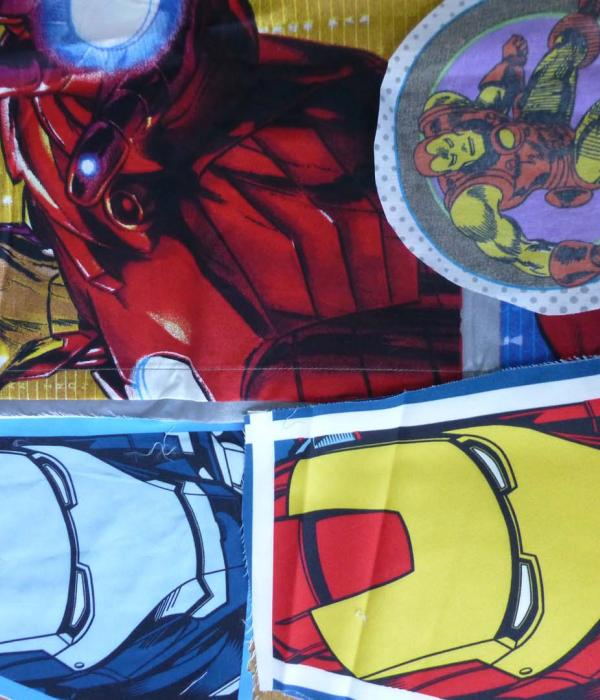 Iron Man fabric